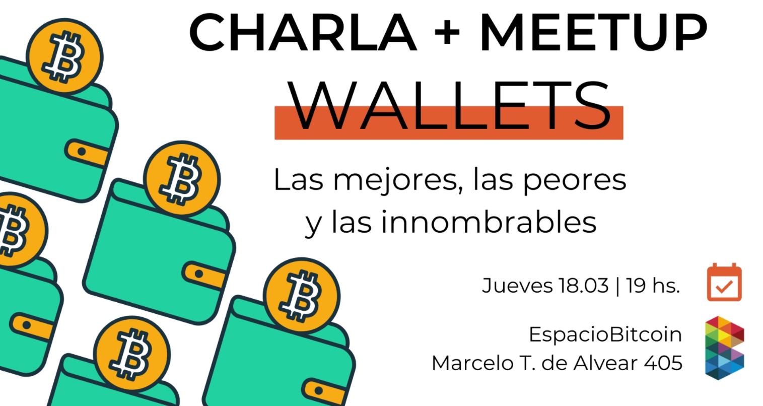 Charla + Meetup con la participación de La Bitcoineta