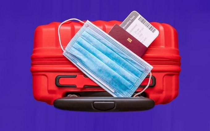 maleta covid pasaporte