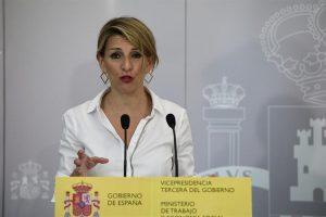 """Díaz dice que los datos de EPA """"vuelven a demostrar la eficacia de las medidas"""" aprobadas por el Gobierno"""